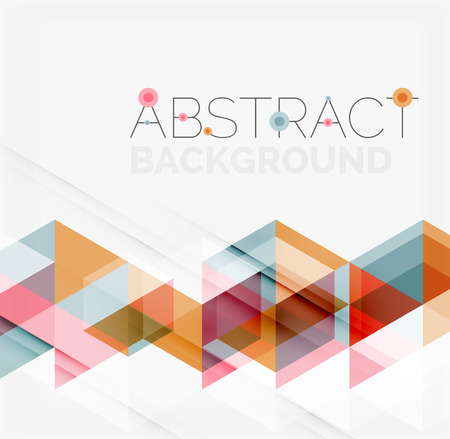 red line: Abstract geometric background. Modern overlapping triangles. Unusual color shapes for your message. Business or tech presentation, app cover template