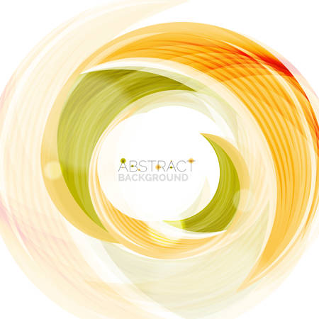 slogan: Vector swirl line abstract background. Modern layout for your message, slogan or brand name
