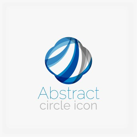 abstract shape: Circle abstract shape . Vector illustration