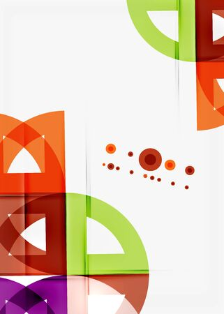 semicircle: Semicircle triangle pattern. Abstract mosaic background, online presentation website element or mobile app cover