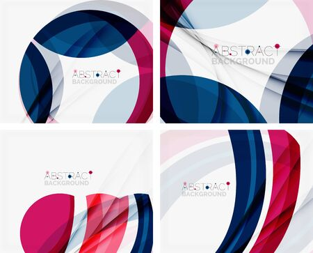 morado: De color púrpura y azul da forma elegante abstracción para su mensaje. Ilustración del vector. Vectores