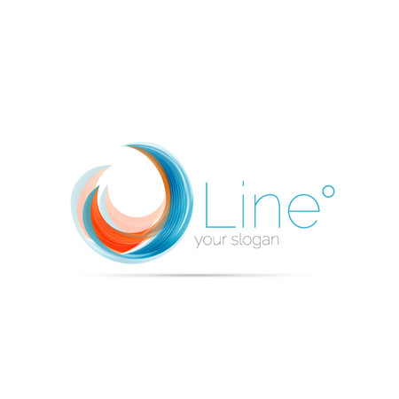 Swirl Company Blue Logo Design. Universal For All Ideas And ...