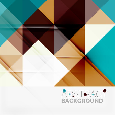 background brown: Abstract geometric background. Modern overlapping triangles. Unusual color shapes for your message. Business or tech presentation, app cover template