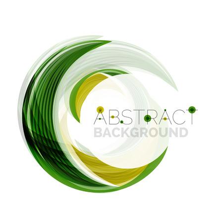 Swirl bedrijf logo design. Universeel voor alle ideeën en concepten. Zakelijk creatieve pictogram Stock Illustratie