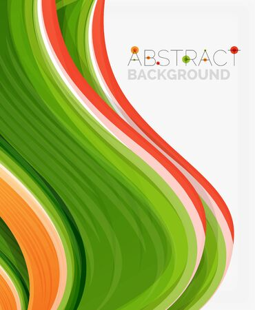 solid: Abstract realistic solid wave background. Vector illustration
