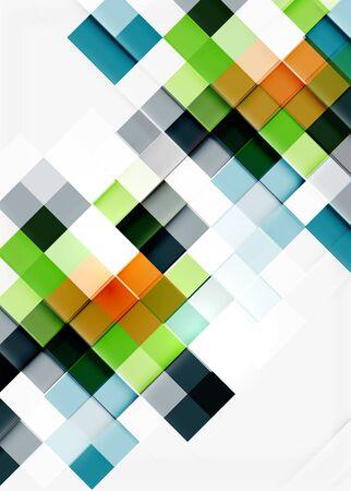 square shape: Square shape mosaic pattern design.