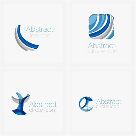 abstract shape: Circle abstract shape  Illustration