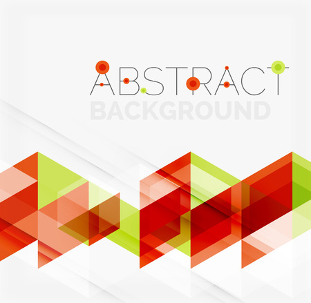 overlapping: Abstract geometric Modern overlapping triangles.