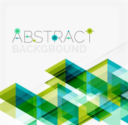 triangle: Abstract geometric background. Modern overlapping triangles. Unusual color shapes for your message. Business or tech presentation, app cover template