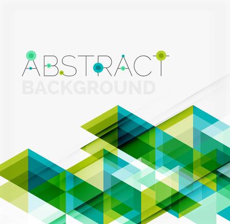 tri�ngulo: Fondo geom�trico abstracto. Tri�ngulos superpuestos modernos. Formas de colores inusuales para su mensaje. Negocios o presentaci�n tecnolog�a, plantilla cubierta aplicaci�n