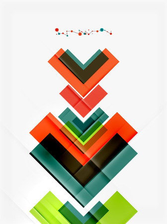 mobile website: Clean colorful unusual geometric pattern design. Abstract background, online presentation website element or mobile app cover