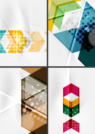 straight lines: Set of angle and straight lines design abstract backgrounds.