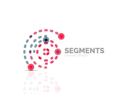 minimal: Outline minimal abstract geometric