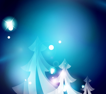 holiday: Holiday blue abstract background