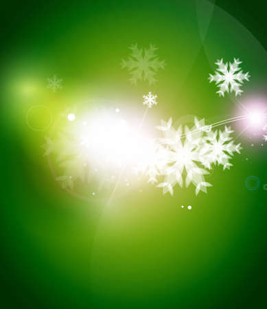 green background: Holiday green abstract background