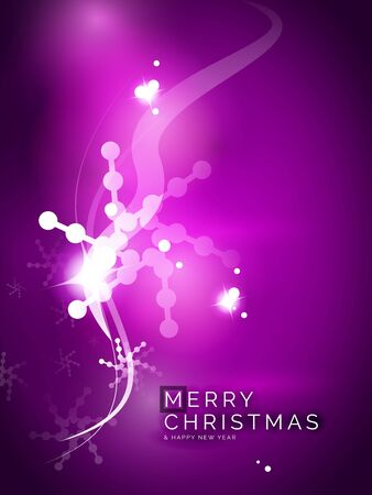 holiday background: Holiday purple abstract background