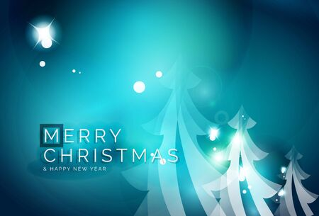 holiday background: Holiday blue abstract background
