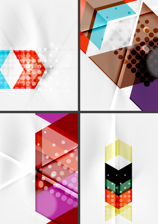 angle: Set of angle and straight lines design abstract backgrounds.