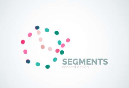 minimal: Outline minimal abstract geometric  Illustration