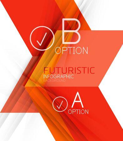 Couleur des formes géométriques avec des éléments d'options d'abstrait. Vector illustration Banque d'images - 49140609