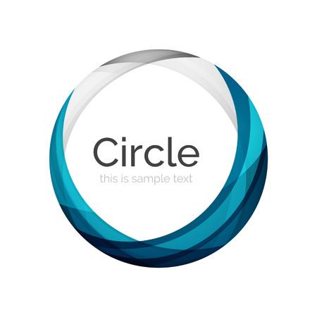 logos empresa: Icono del vector del remolino del color de forma o de fondo abstracto