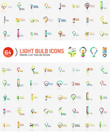 electric power: Mega collection of light bulb