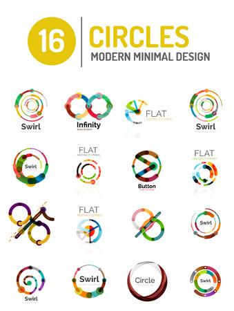 circle shape: Vector collection of various Circle shape
