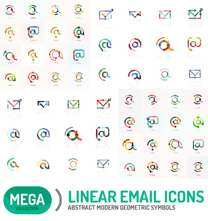 mega: Mega collection of email icons