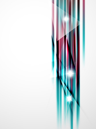 straight lines: Shiny straight lines abstract background. Glossy multicolored stripes Illustration