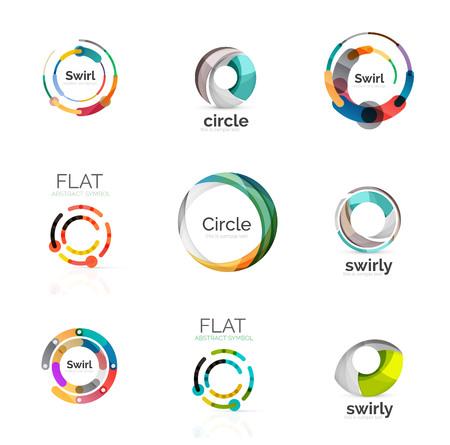 various: Vector collection of various circle logos