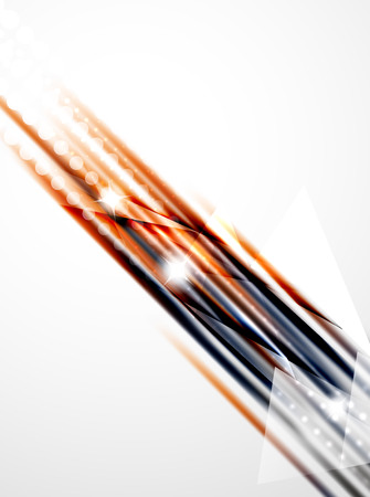 lineas rectas: Shiny straight lines abstract background. Glossy multicolored stripes Vectores