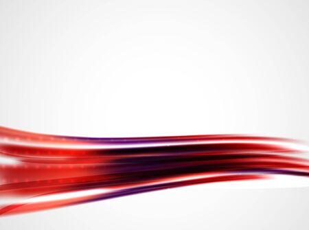 metallic: Shiny metallic wave curtain. Abstract background, vector