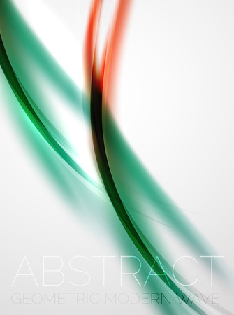 modern business: Modern curve stripes template, corporate business background