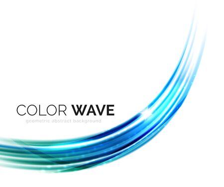 smooth: Elegant light smooth vector wave