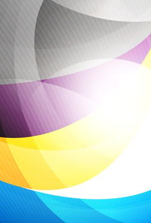 curve: Modern curve stripes template, corporate business background
