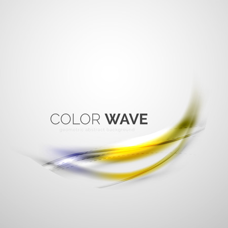 smooth: Elegant light smooth vector wave