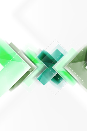 similar images preview: Colorful glossy arrow shapes. Abstract background. Vector web brochure, internet flyer, wallpaper or cover poster design. Geometric style, colorful realistic glossy arrow shapes with copyspace. Directional idea banner Illustration