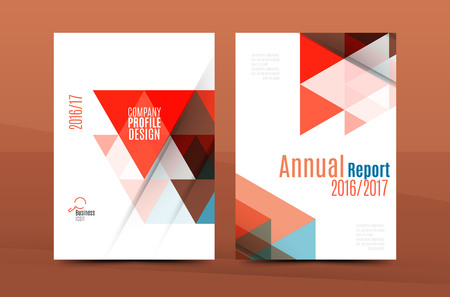 datebook: Geometric mosaic design, a4 size business corporate correspondence letter cover. Leaflet, annual report identity template
