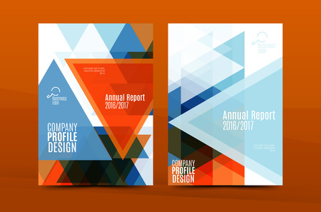 first form: Geometric mosaic design, a4 size business corporate correspondence letter cover. Leaflet, annual report identity template