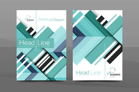 portadas de libros: Design of annual report cover brochure, flyer template layout, vector leaflet abstract background, A4 size page