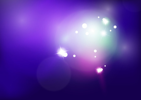 stripped: Purple shiny abstract background. Blurred light vector template. Magic layout