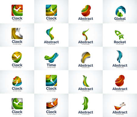 universal: Vector abstract business  collection, universal web icons