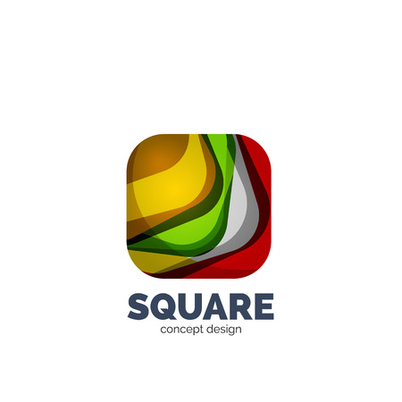 profesional: Vector abstract square