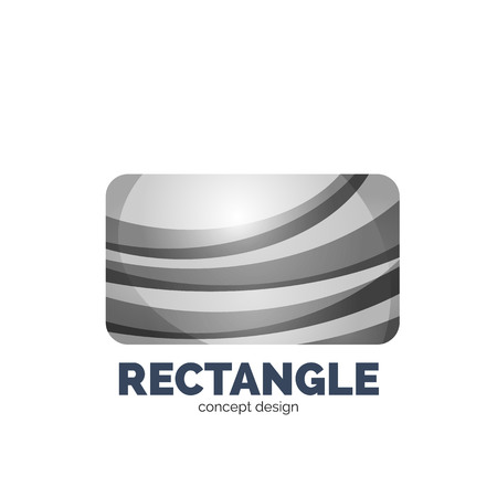 rectangle: Vector rectangle   template