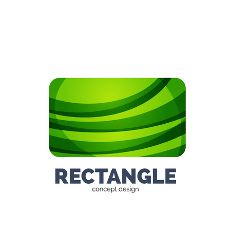 rectangle: Vector rectangle, abstract template Illustration
