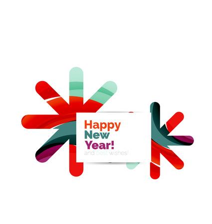 best ad: Geometric Christmas sale or promotion ad banner. Blank offer design Illustration