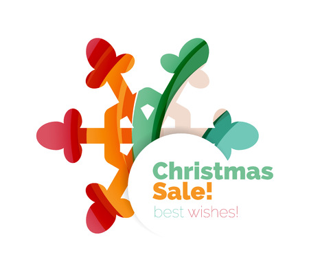 christmas and new year sale banner vector illustration stock vector 64538516