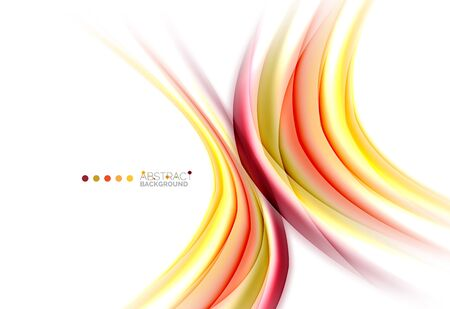 Blurred swirl background vector template Illustration