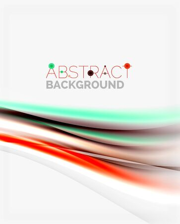 smooth: Smooth lines, abstract background template
