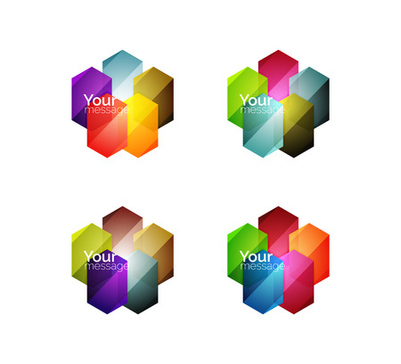 적합: 벡터 반짝 빈 웹 옵션 상자. 텍스트, 인포 그래픽 또는 탐색 UI 메뉴에 적합한 형상 요소